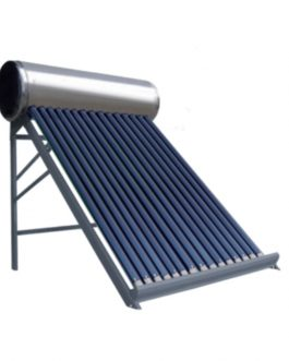 TERMOTANQUES SOLARES ACERO INOXIDABLE 100 LTS.