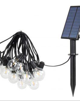 Guirnalda 20 lamparas (solar)